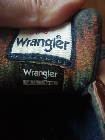 Buty Wrangler trzewiki
