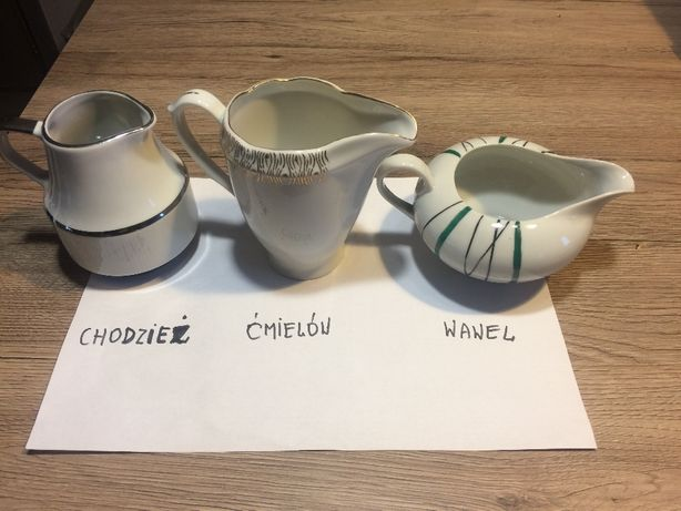 Mlecznik Porcelana Chodzież, Ćmielów, Wawel