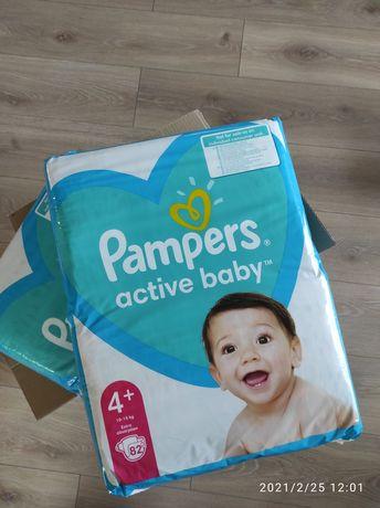 Pampers active Baby 4 plus 164 sztuki