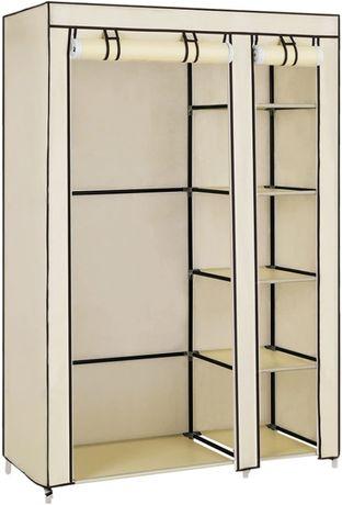 Płócienna szafa 110 x 45 x 175 cm - LSF007M