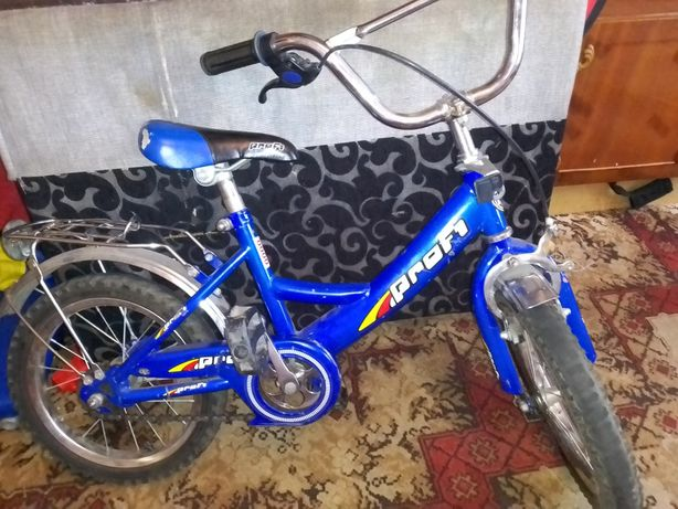 Велосипед для мальчика 4-5 лет
