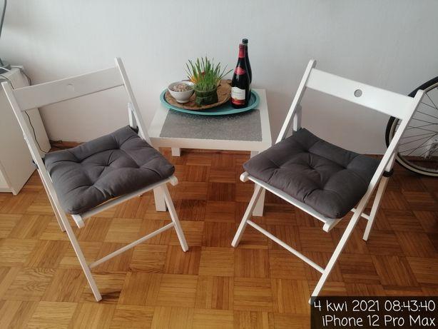 Krzesła Składane z poduszką