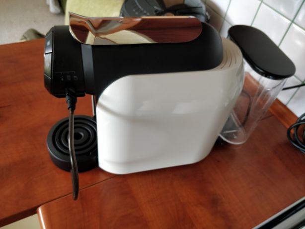 ekspres do kawy na kapsułki + wrzątek Delta q milk qool na gwarancji