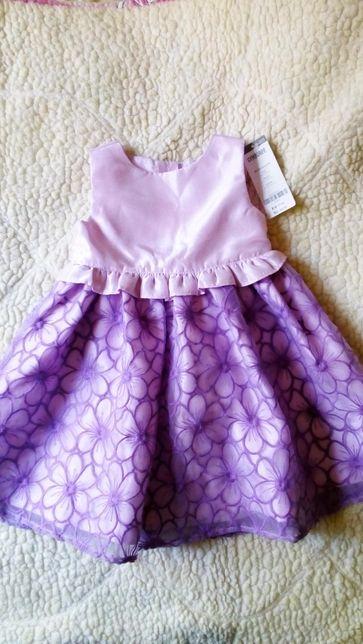 Нарядное Новое платье Gymboree Джимбори на 1,5 - 2 года