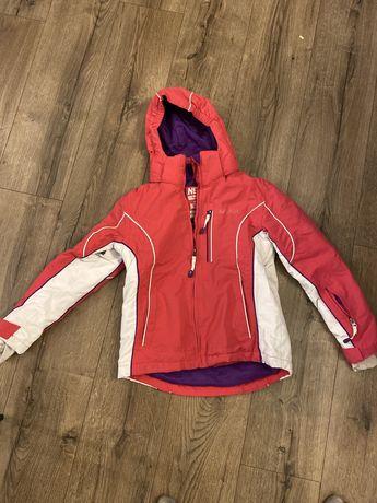Kurtka narciarska zimowa r.122-128 dziewczeca