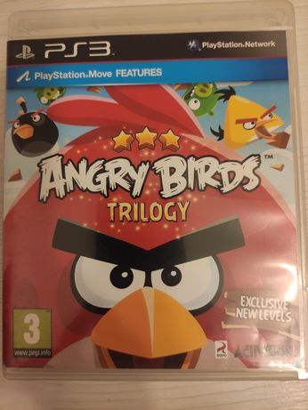 Gra na konsole PS3 Angry Birds Trilogy