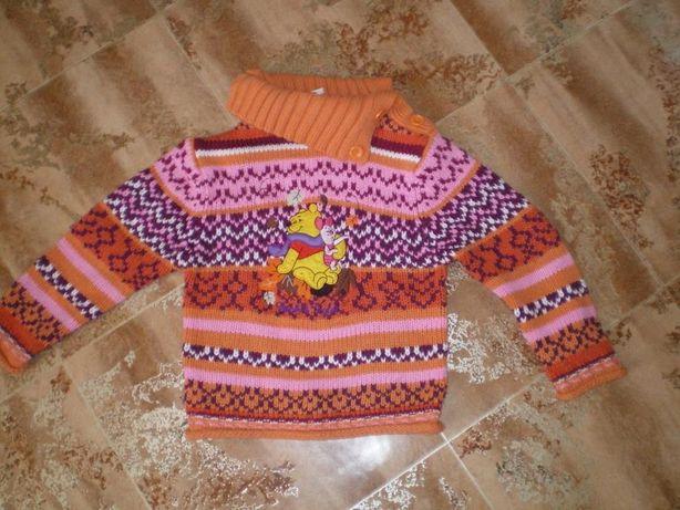 Sweter sweterek golf C&A Disney bardzo ciepły
