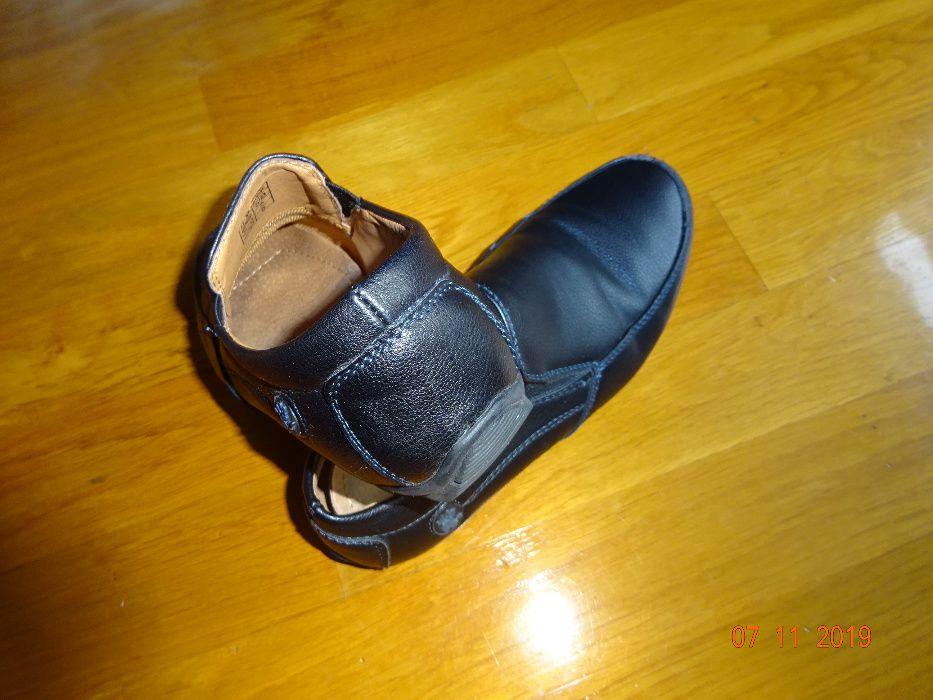 Buty czarne mokasyny Wojtyłko rozmiar 31 Zakopane - image 1