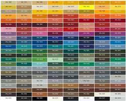 zelkot lub topkot poliestrowy - kolory