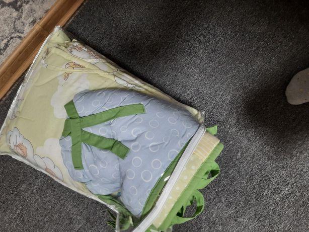 Бортики в кроватку+балдахин+держатель для балдахина