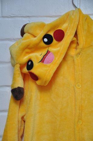 Кигуруми пижама Покемон Пикачу. На 116 - 130 см. Качественная.