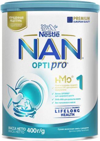 Смесь детская Nan 1 для новорожденных.