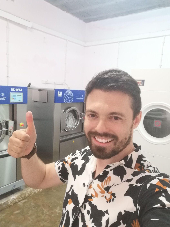 Aluguer Máquinas de Lavandaria secar e lavar industrial ou Self