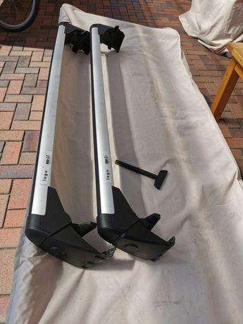Bagażnik dachowy bazowy AUDI A6 C6 Oryginał Limuzyna