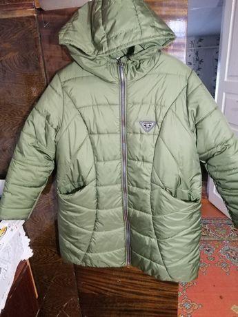 Куртка зимняя состояние идеальное