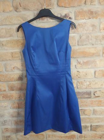 Sukienka elegancka wesele komunia S XS 34 36 mohito kwadrat