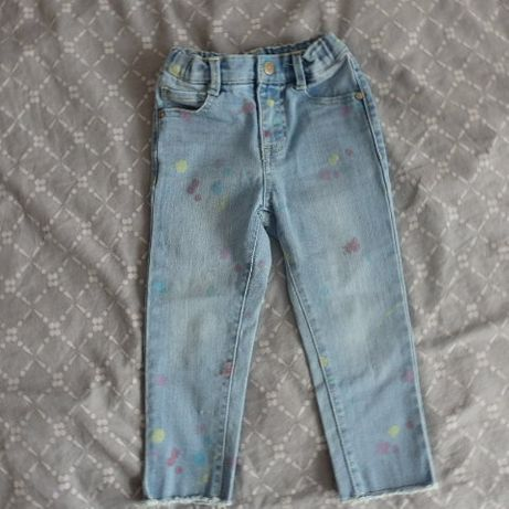 Spodnie dżinsowe 98