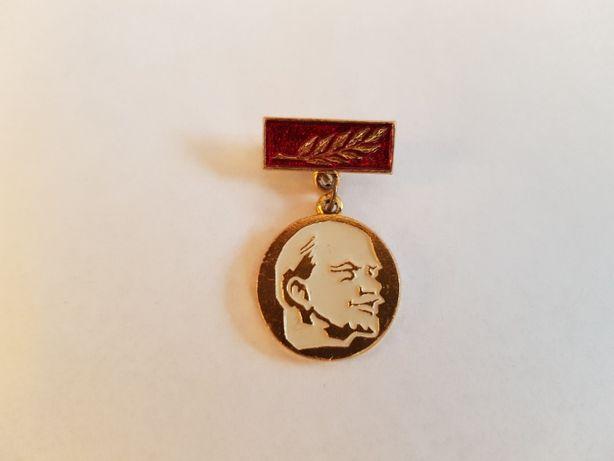 Włodzimierz Lenin - medal pozłacany, oryginalny z ZSRR