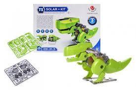 Робот-конструктор на солнечных батареях 3 в 1 Буранозавр Solar Kit