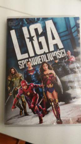 Liga sprawiedliwości film DVD od DC z Superman Wonderwoman nie Marvel