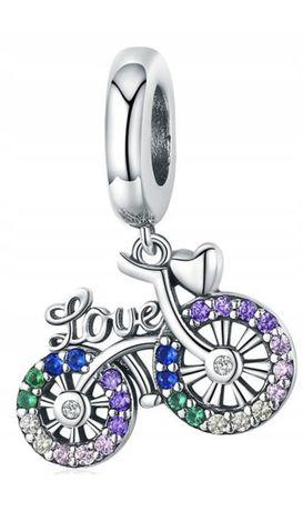 Charms do PANDORA rower srebro 925