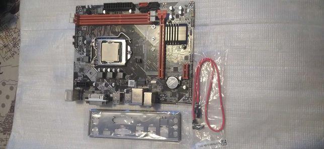 Материнская плата 1155 + процессор