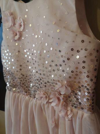 Sukienka dla dziewczynki 140cm