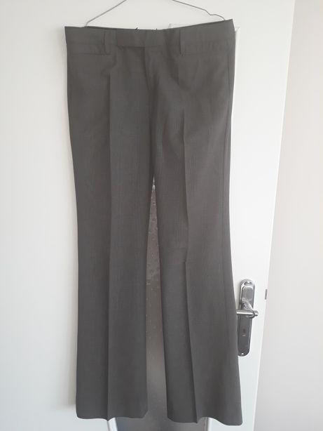 GAP 38 spodnie w kratkę na kant