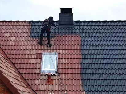 Mycie malowanie  dachu dachów,elewacji kostki Wawa-okolice