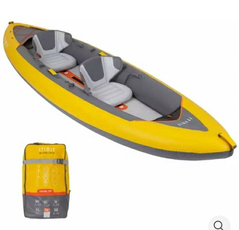 Kayak / Canoa insuflavel / Caiaque K2-3 / SUP Paddle Rental
