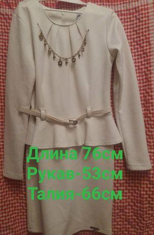 Платье нарядное, школьная форма нарядная (Турция)