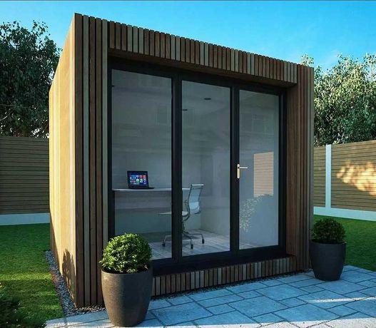 Módulo pré-fabricado - escritório, stands, estúdios etc.