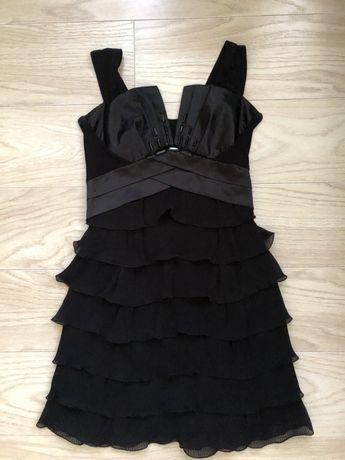 Платье женское , черное , размер s