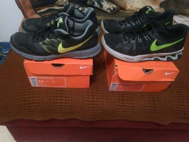 2 pary butów firmy NIKE w rozmiarze 42 8,5(długość wkładki 26,5 cm)