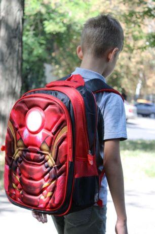рюкзак школьный 3D Железный человек