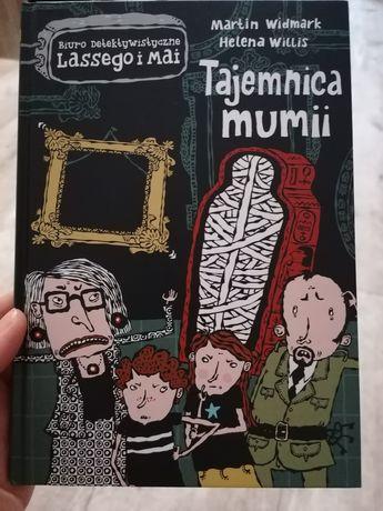 Tajemnica mumii książka dla dzieci