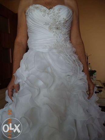 Suknia ślubna biała CARMEN