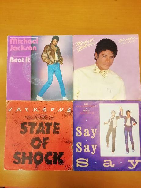 Discos Single Michael Jackson