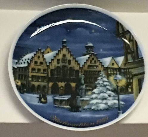 Декоративные тарелки в стиле ретро. Коллекция из Германии