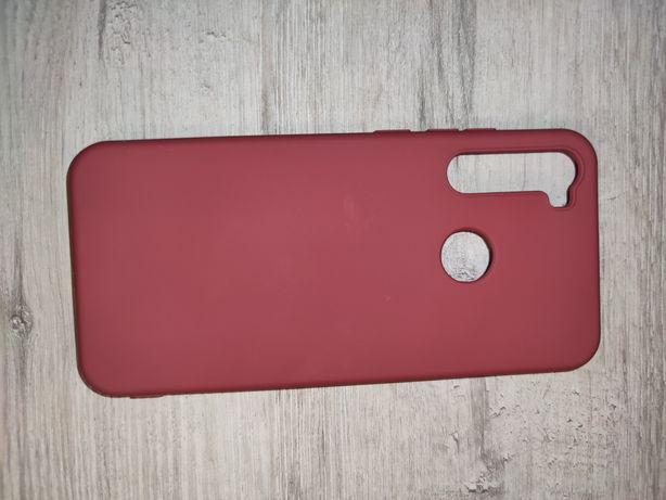 Etui do Xiaomi Redmi Note 8T matowe silikonowe różowe
