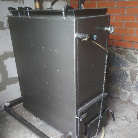 Изготовление котлов  верхней загрузк твердотопливны по типу Холмова
