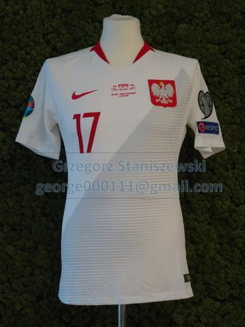 Koszulka meczowa POLSKA-MACEDONIA el. EURO 2020 Damian Kądzior