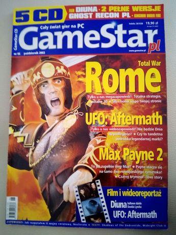 GameStar.pl nr 6/październik 2003 świat gier PC