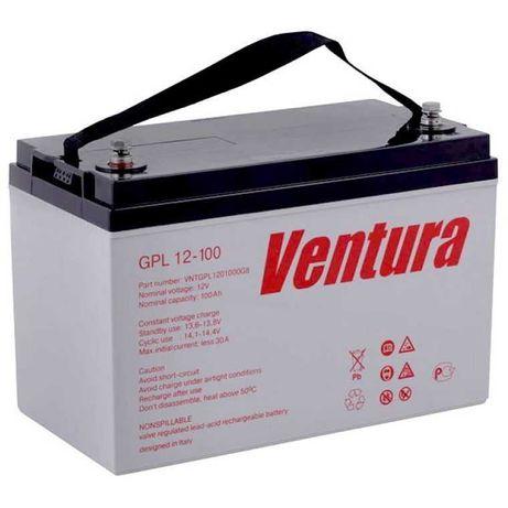АКБ 100 а/ч, 12В Ventura GPL