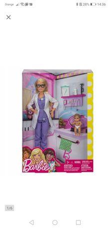 Lalka Barbie lekarka Zestaw Nowa
