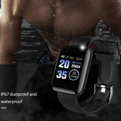 Relógio inteligente Bluetooth 4.2 taxa de Coração/Oxigênio Esporte Fit