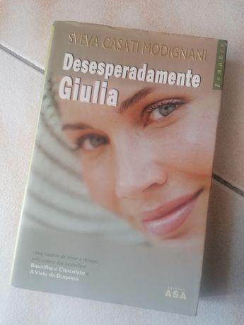 Livro- Desesperadamente Giulia