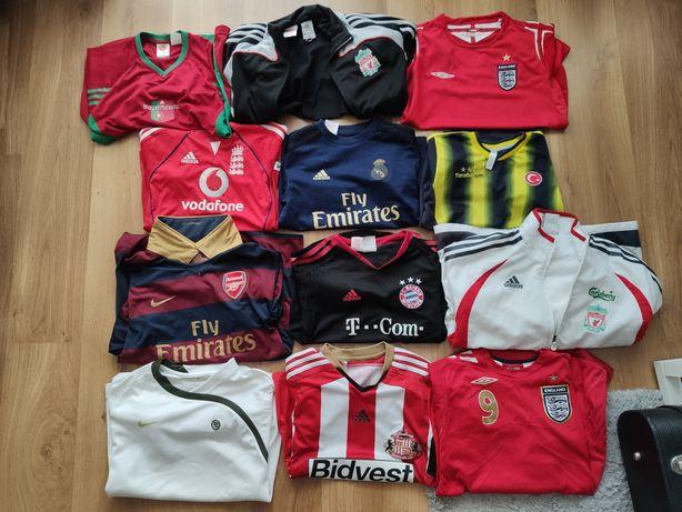 Koszulki piłkarskie dziecięce - cena za każdą sztukę!