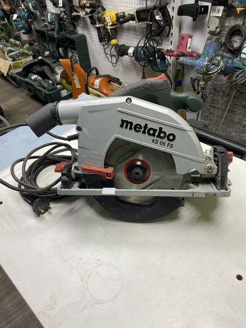 Пила дисковая metabo ks66 Fs.как новая !!!