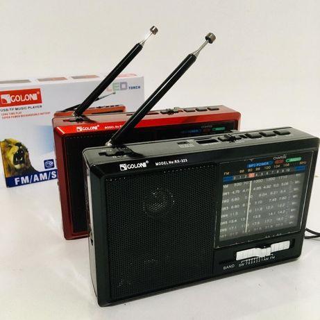 """Радиоприемник всеволновой c USB/SD. """"GOLON"""" приёмник"""